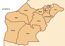 Distrikte des Gouvernements