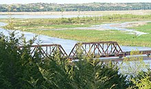 Niobrara State Park bridge W end.JPG