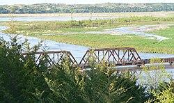 Niobrara State Park bridge W end.JPG