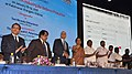Nirmala Sitharaman inaugurating the Defence Investor Cell Portal, at the inauguration of the Defence Industry Development Meet for Forging New Partnership with Industry for Defence Production, at Kalaivanar Arangam, Chennai.jpg