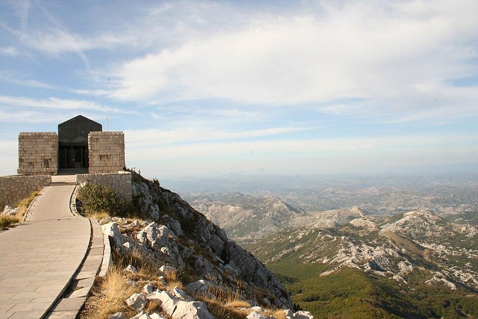 Njegos mausoleum montenegro