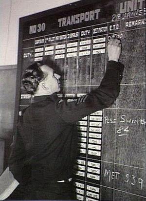 No. 30 Transport Unit RAAF - Image: No. 30 Unit RAAF 1953 (AWM JK0635)