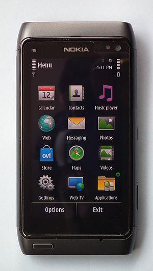 The Nokia N8 Phone
