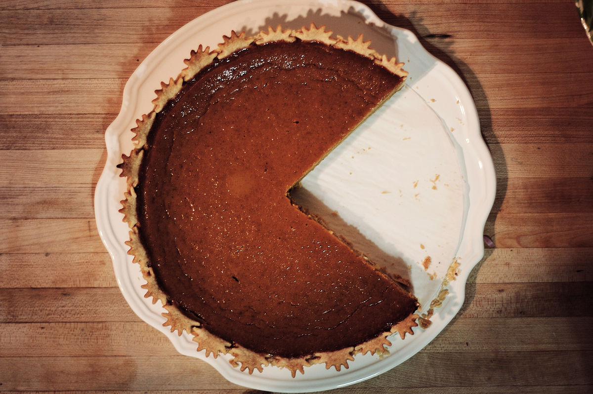 Pumpkin pie - Wikipedia