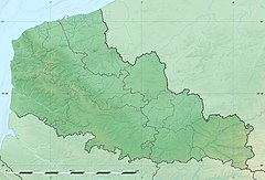 Nord-Pas-de-Calais region relief location map.jpg