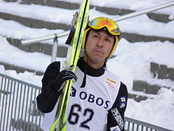 Noriaki Kasai at the Holmenkollen 2006.jpg