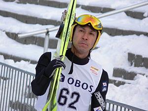 Noriaki Kasai at the Holmenkollen 2006