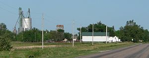Norman, Nebraska - Norman, seen from the east on Nebraska Highway 74.