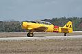 North American SNJ-6 Texan Navy Takeoff 02 TICO 13March2010 (14597556204).jpg
