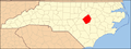 North Carolina Map Highlighting Johnston County.PNG
