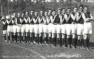 North Launceston Football Club - A North Launceston team of 1923.