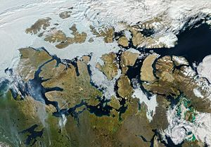 Northwest Passage - 09 August 2013