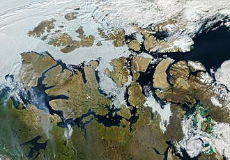Northwest Passage - 9 August 2013