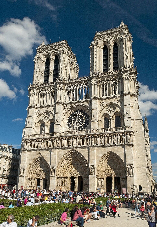 Notre Dame de Paris Cathédrale Notre-Dame de Paris (6094168584)