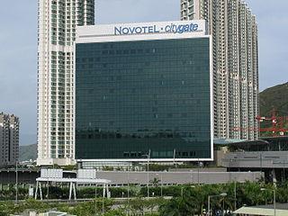 Novotel Citygate building in Novotel Citygate Hong Kong, China