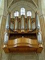 Noyon (60), cathédrale Notre-Dame, avant-nef, grandes-orgues 1.jpg