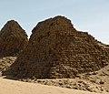 Nuri Pyramid V of King Malenaqen r. c. 553-538 BCE.jpg