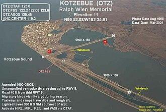Ralph Wien Memorial Airport - Image: OTZ g