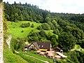 Oberkirch, Schauenburg, Ausblick auf die Burggaststätte 1.jpg