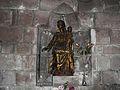 Objat église statue.JPG