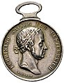 Obverse of the Silver Medal for bravery (Austria-Hungary, 1839-1849, Ferdinand).jpg