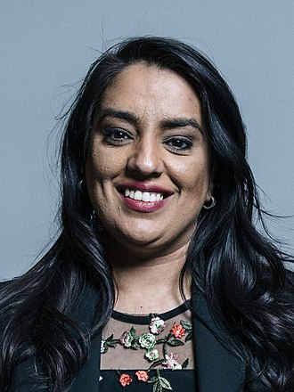 Shadow Secretary of State for Women and Equalities - Image: Official portrait of Naz Shah crop 2