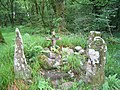 Ogham stones near Baile Mhic Íre (Ballymakeery) - geograph.org.uk - 2913.jpg