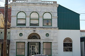 National Register of Historic Places listings in Lafourche Parish, Louisiana - Image: Oilgas WM