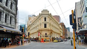 Thomas Turnbull - Image: Old Bank Arcade Wellington 2015