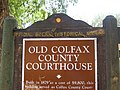 Old Colfax County Courthouse sign, Springer, NM IMG 0542.JPG
