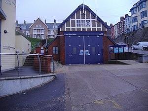 Cromer Lifeboat Station - Image: Old Lifeboat station Cromer 16 01 2009 (1)