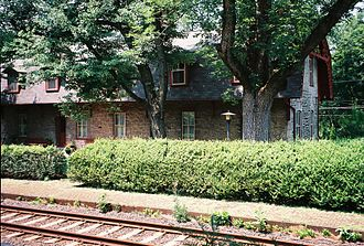 Lutherville station - The former Lutherville station in 2009