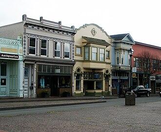 Old Town Eureka - Image: Old Town Eureka, California
