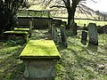 Old graveyard at Unthank - geograph.org.uk - 736862.jpg