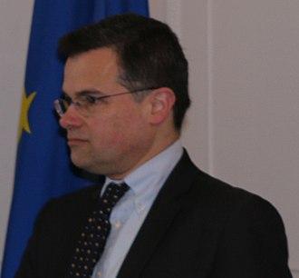 Oliver Kamm - Kamm in January 2015