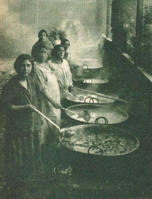 Ollas comunes en 1932