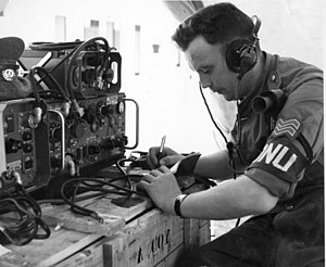"Siege of Jadotville - Radio operator of ""A Company"" in the months prior to the siege"