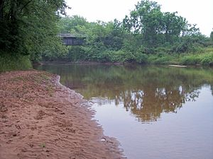 Ontonagon River - The South Branch Ontonagon River at Ewen