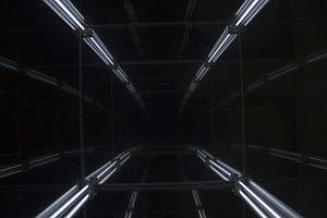 Video feedback - Optical feedback between mirrors.