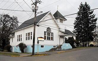 Gaston, Oregon - Gaston community church