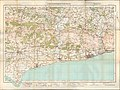 Ordnance Survey One-Inch Sheet 133 Chichester & Worthing, Published 1920.jpg