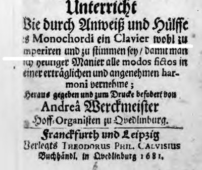 "Cover of ""Orgelprobe"" 1681"