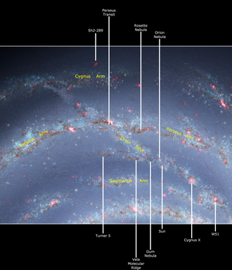 Orion Arm - Image: Orion Spur