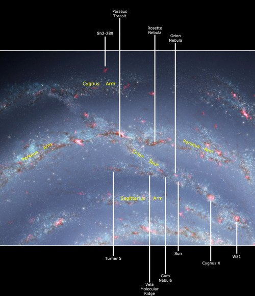 Heres what the Milky Way may look like from deep space