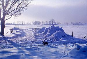 Winter of 1962–63 in the United Kingdom - Snow in Lancashire, January 1963