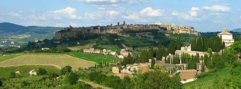 Orvieto from Rome?