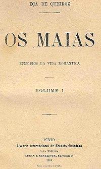 Os Maias cover