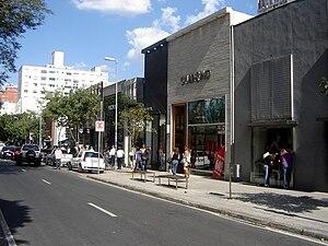 Rua Oscar Freire - Stores in the Rua Oscar Freire