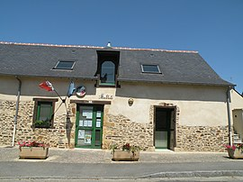 The town hall of Ossé