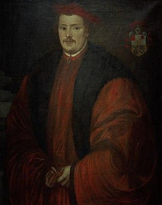 Otto Truchsess von Waldburg - Cardinal Otto Truchsess von Waldburg, contemporary portrait by Lambert Sustris